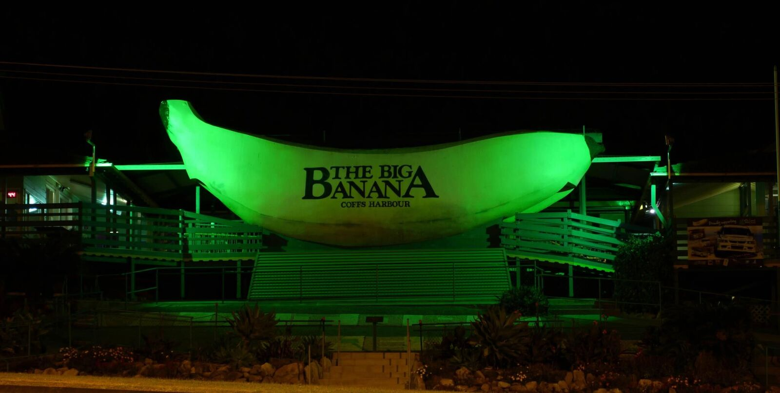 The Big Banana in Coffs Harbour, NSW is just one of the greenings in 2018.  See the  Tourism Ireland website  for the full list of Australian and global greenings.