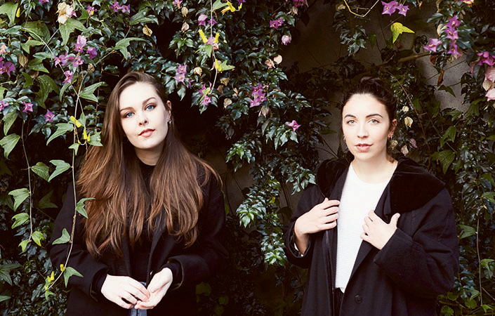 Saint Sister have won praise in Ireland for their 'atmosfolk' sound.