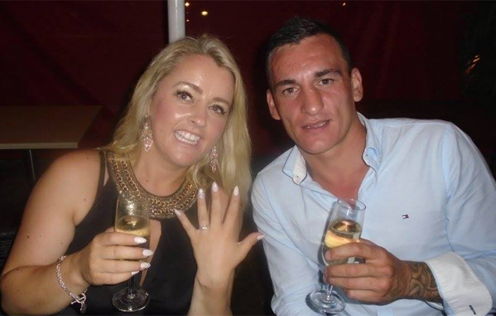 Cathrina Cahill and her fiance David Walsh who she has admitted to killing while under substantial impairment in February 2017.