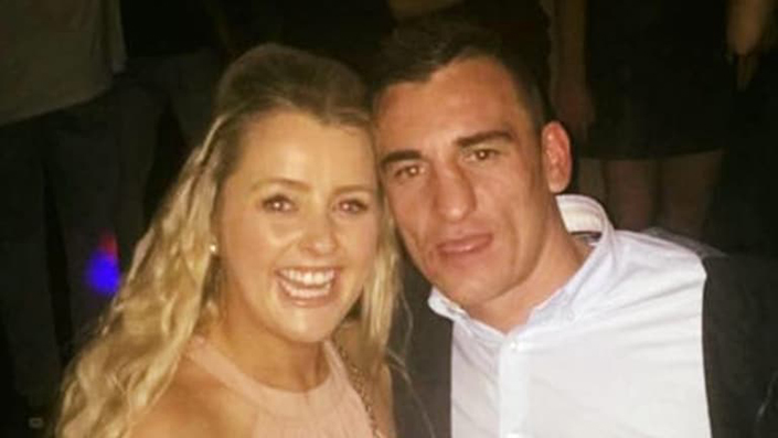 Tina Cahill and the man she killed, former fiance David Walsh