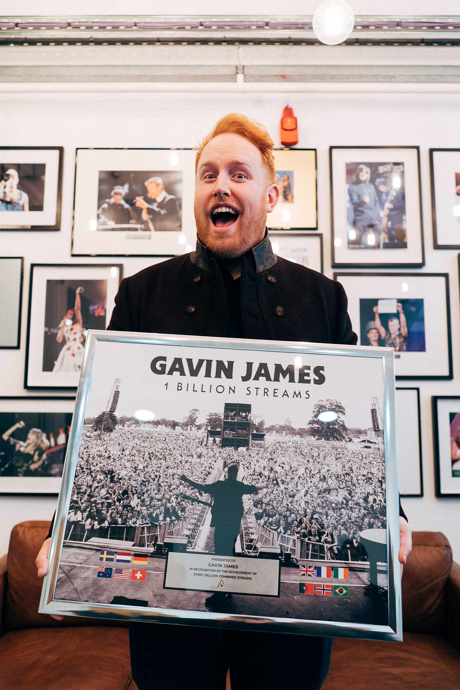 Gavin James returns to Australia in March for a whistle-stop tour.