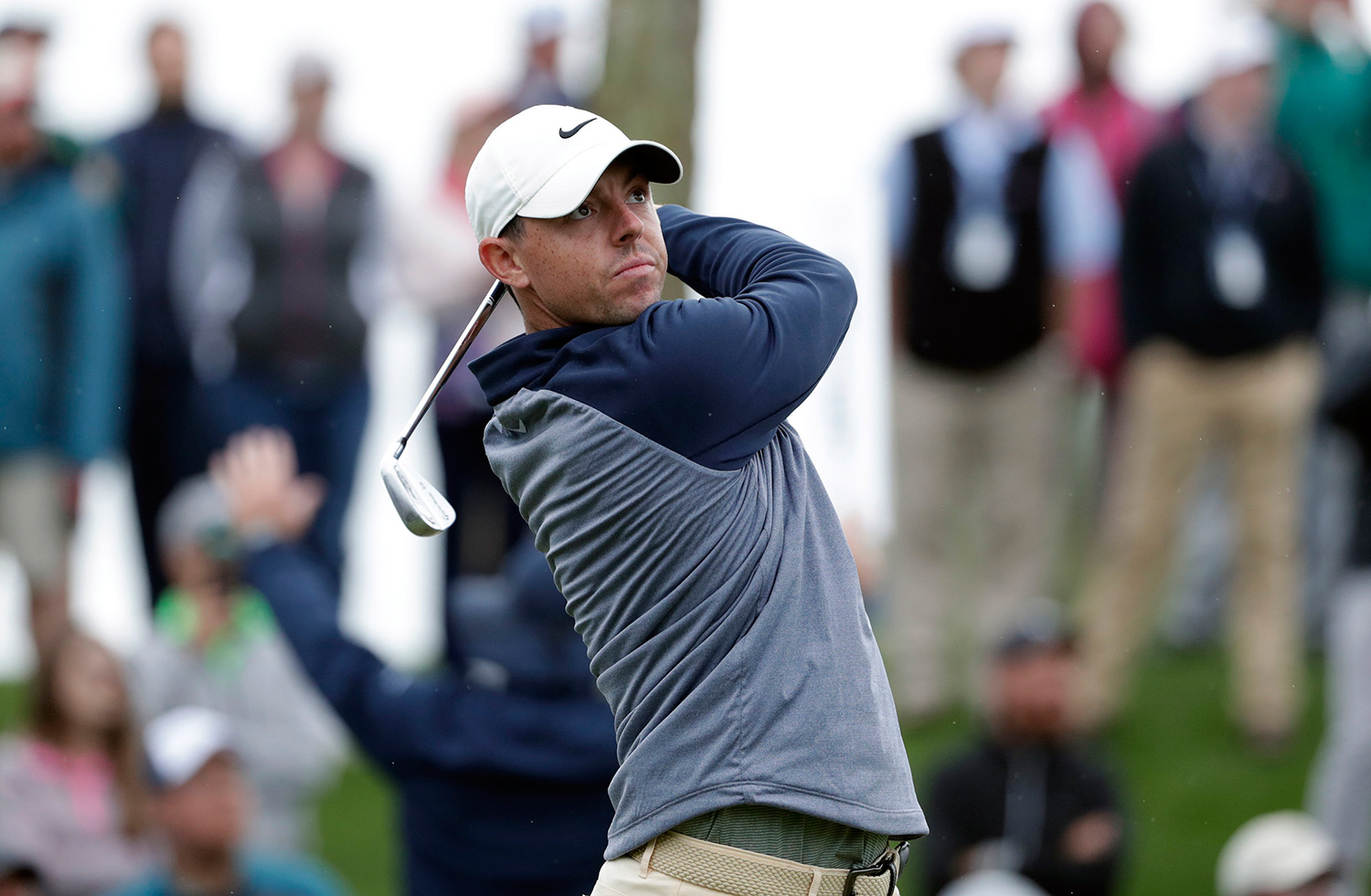 Rory McIlroy on his way to victory at the Players Championship in Florida. Picture: Lynne Sladky