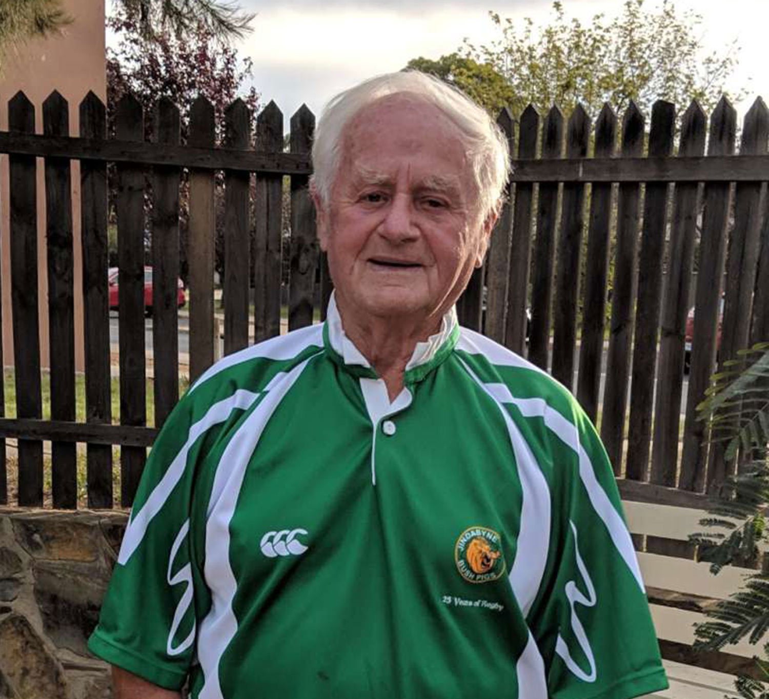 Harry Cummins, 83, from Dundrum came to Australia more than 50 years ago and lives in the Snowy Mountains area. He is one of the subjects of Lucky Country.
