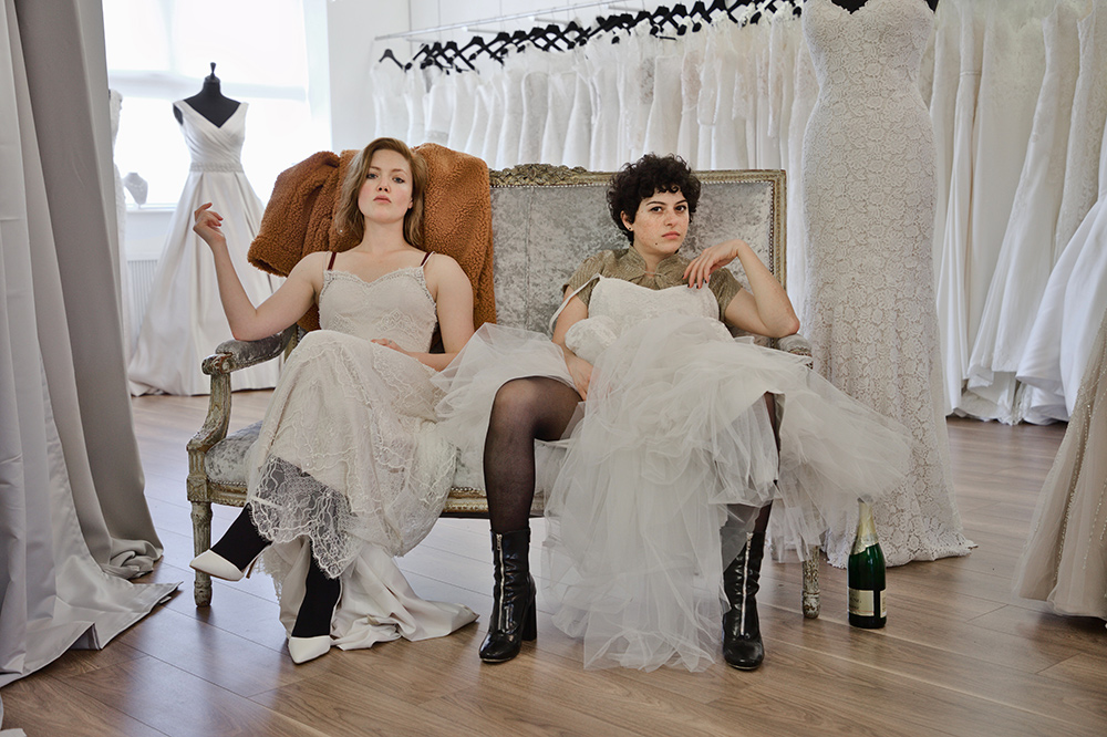 Holliday Grainger and Alia Shawkat in Animals, which will be screened at the Sydney Film Festival.