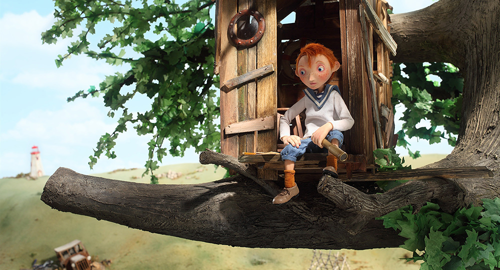 Captain Morten and the Spider Queen features the voices of Brendan Gleeson, Pauline McLynn and Tommy Tiernan.
