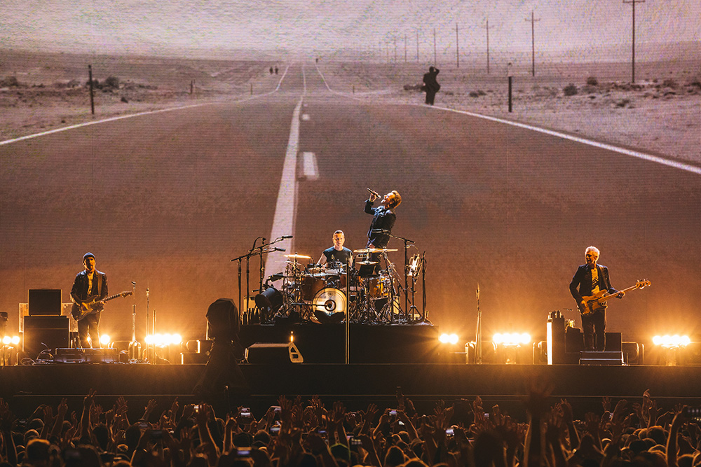 U2's Joshua Tree tour has already been seen by almost three million fans.