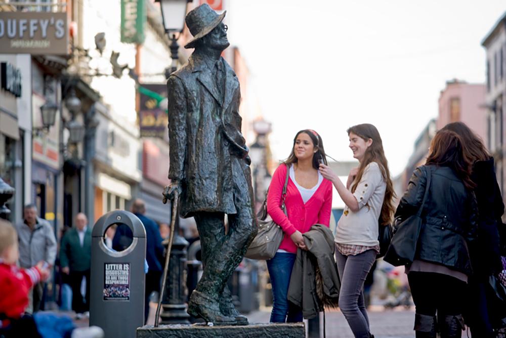 The work of Irish writer James Joyce is celebrated around the world on Bloomsday.