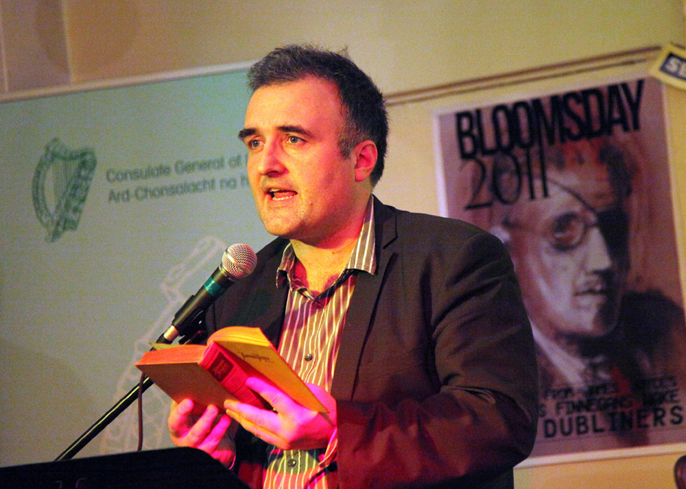 Irish academic Dr Ronán McDonald will discuss the 'consecration' of James Joyce's Ulysses at a celebration of Bloomday in Melbourne.