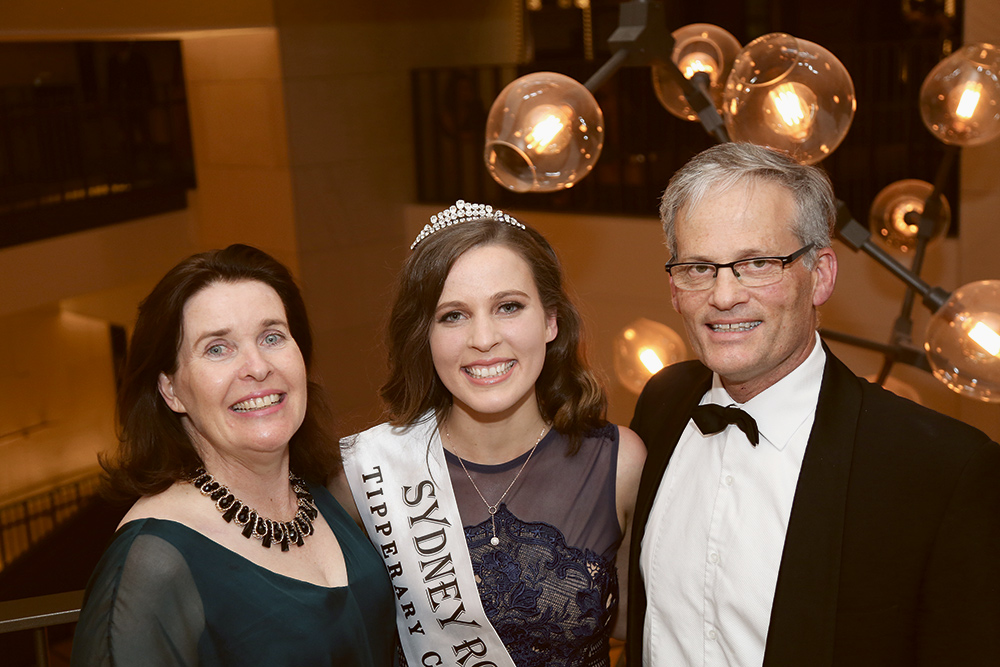 Sydney Rose of Tralee for 2019 Rebecca Mazza with parents Catherine and Anthony.