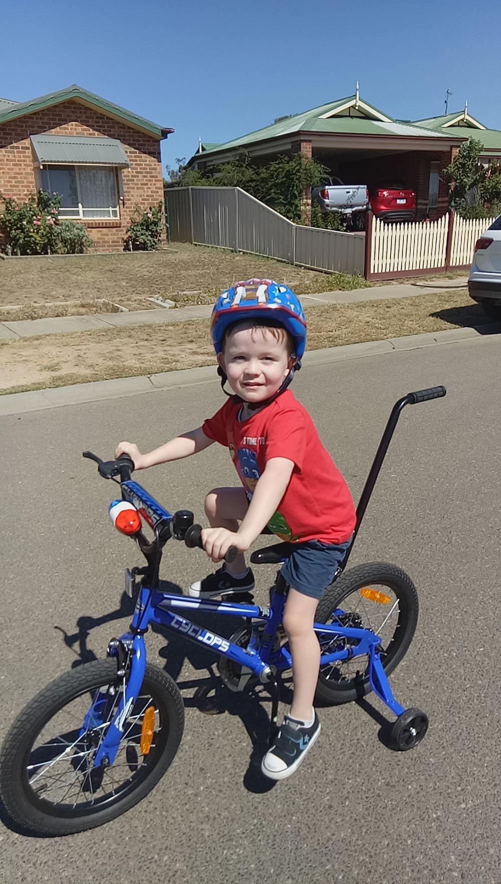 Darragh Hyde is a cystic fibrosis sufferer. He and his family have been granted extra time in Australia while their case is considered by the minister.