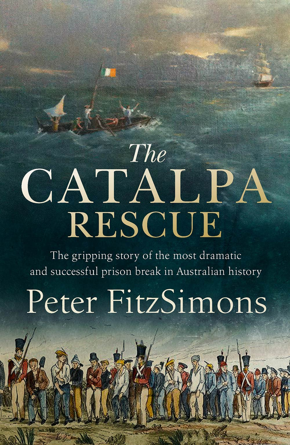 Peter FitzSimons' new book bring the story of The Catalpa Rescue to a new audience.