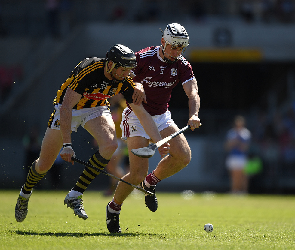 Action from the Wild Geese Trophy challenge match between Kilkenny and Galway in Sydney last November.
