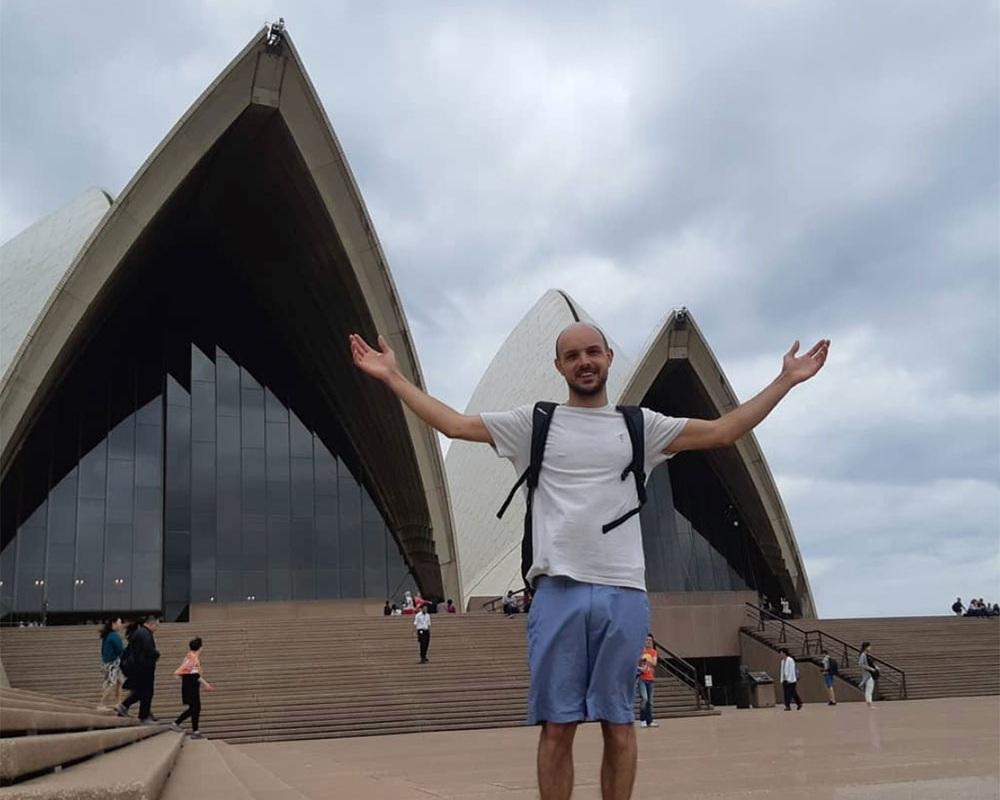 Declan Whales has been touring Australia. Photo: Instagram.