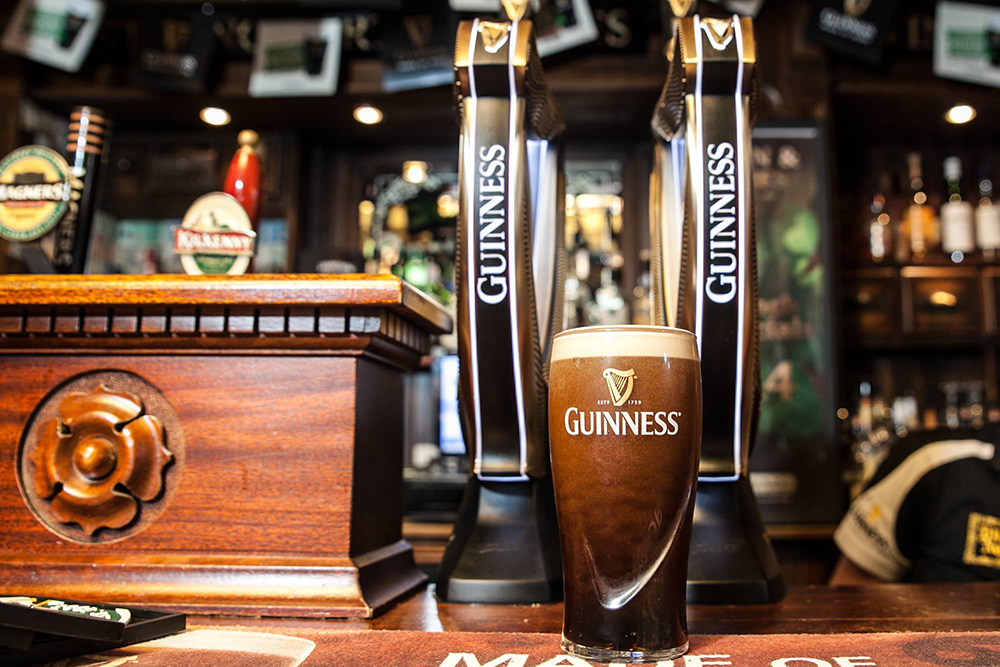 The Black List ranks the top Australian outlets for Guinness sales.
