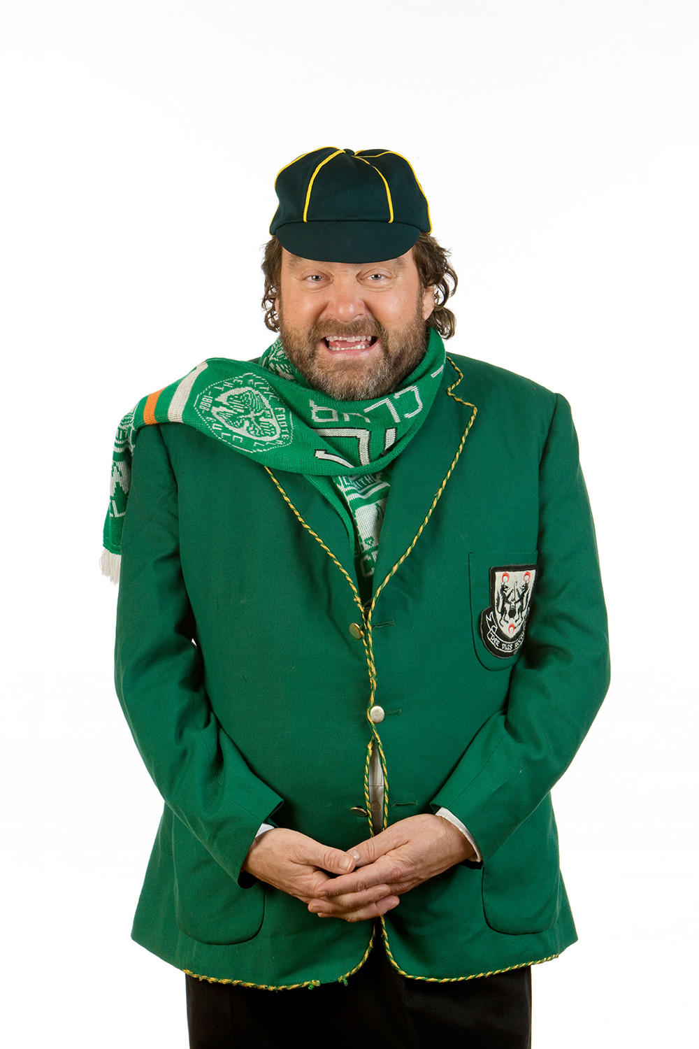 Brendan Grace in character as Bottler, one of his most famous characters.