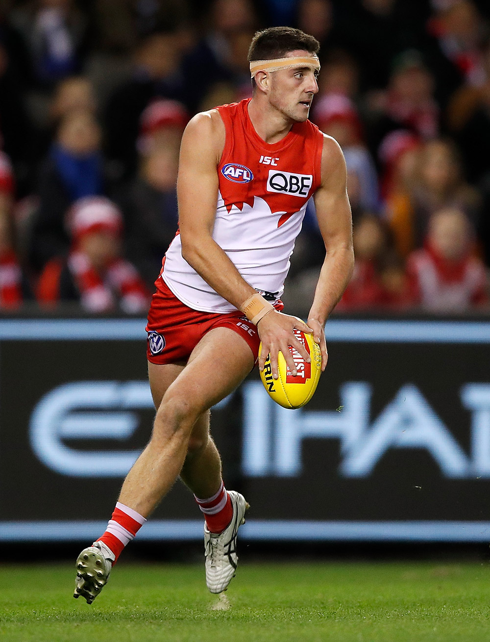 Colin O'Riordan has signed a new contract with the Sydney Swans. Picture: Sydney Swans
