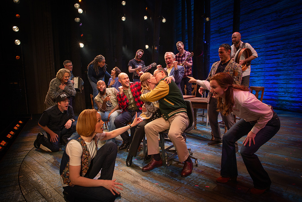 Come From Away is set in Gander, Newfoundland, a place with strong irish heritage.