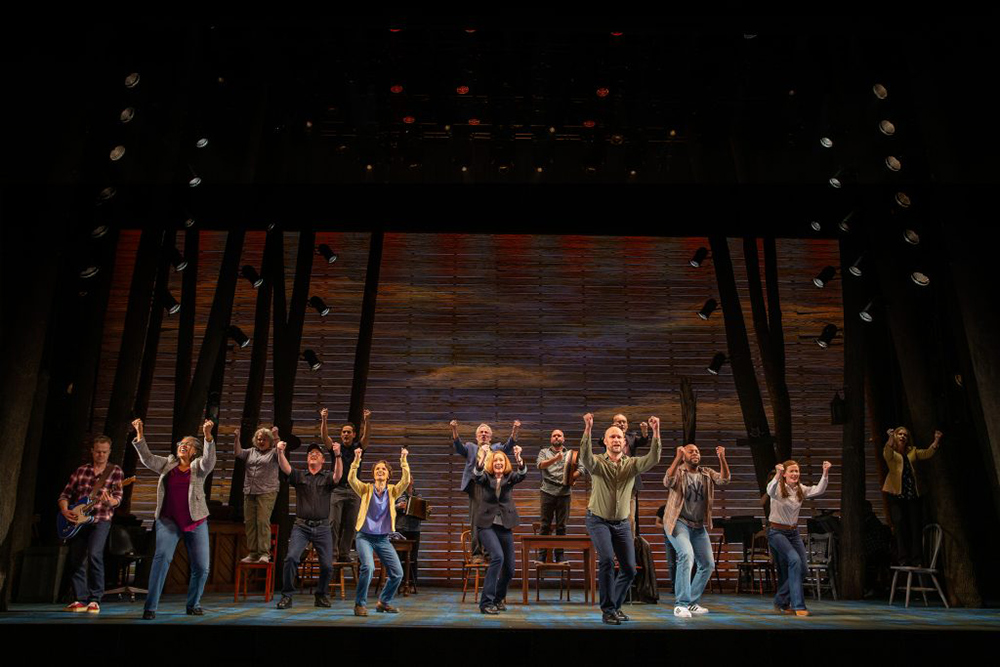 Come From Away's music has a strong irish influence.
