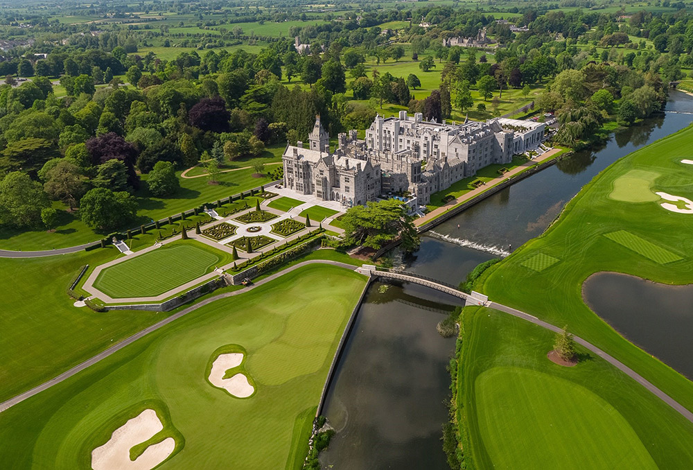 The Adare Manor resort was revamped in 2014 at a cost of €70 million.
