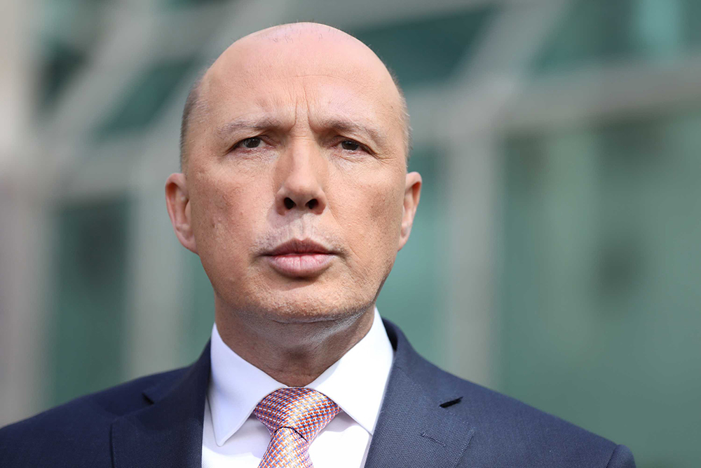 Home Affairs Minister Peter Dutton has cancelled thousands of visas on 'character' grounds.