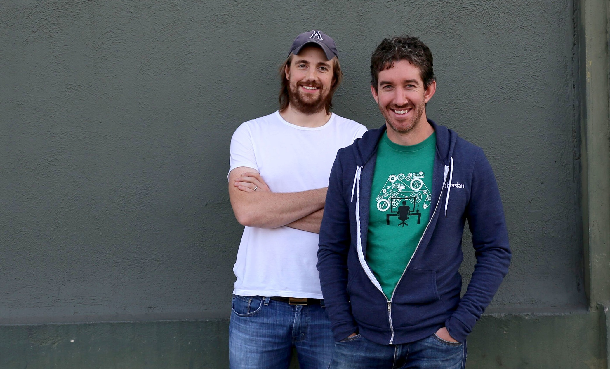 Tech billionaires Mike Cannon-Brookes and Scott Farquhar founded Atlassian in 2002.