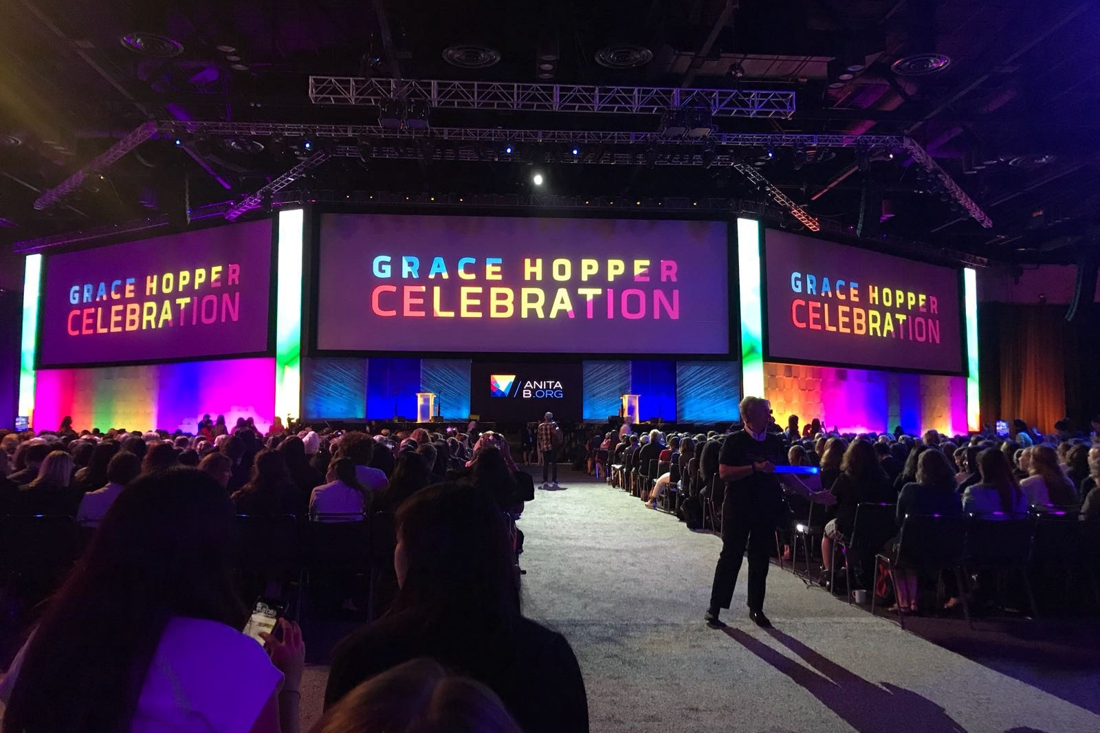 2019 marks the first time the Grace Hopper Celebration has come to Australia, transforming into 'Hopper Down Under'.