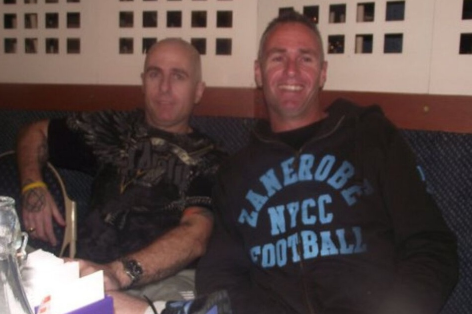 The Pennie family said Paul (left) struggled to cope after the sudden death of his brother Keith (right).