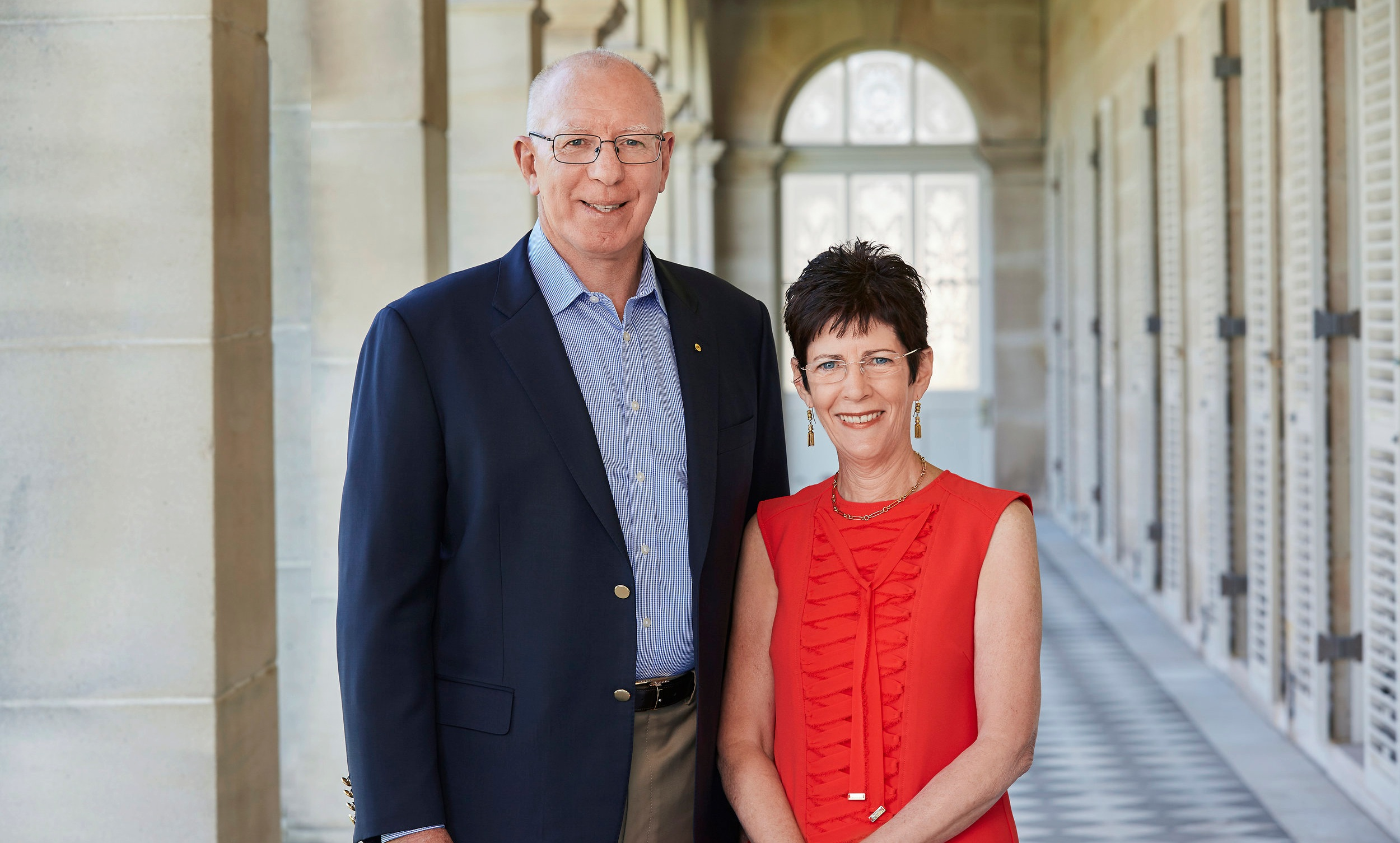 Governor-General David Hurley and his wife Linda have swapped Sydney's Government House for Canberra.