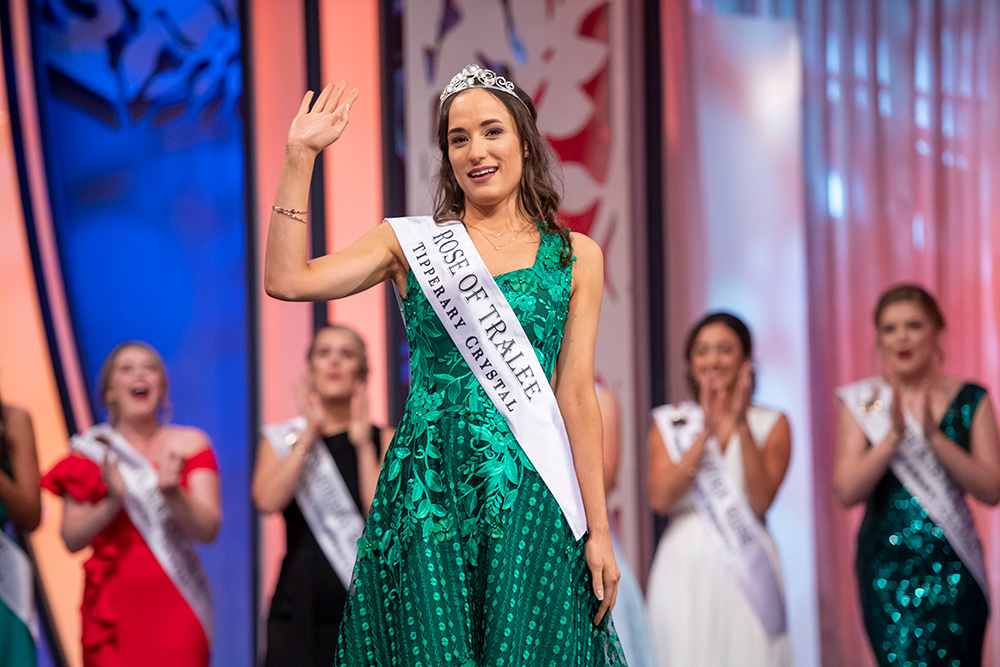 Sinéad Flanagan from Limerick is the 2019 International Rose Of Tralee. Picture: Dominick Walsh