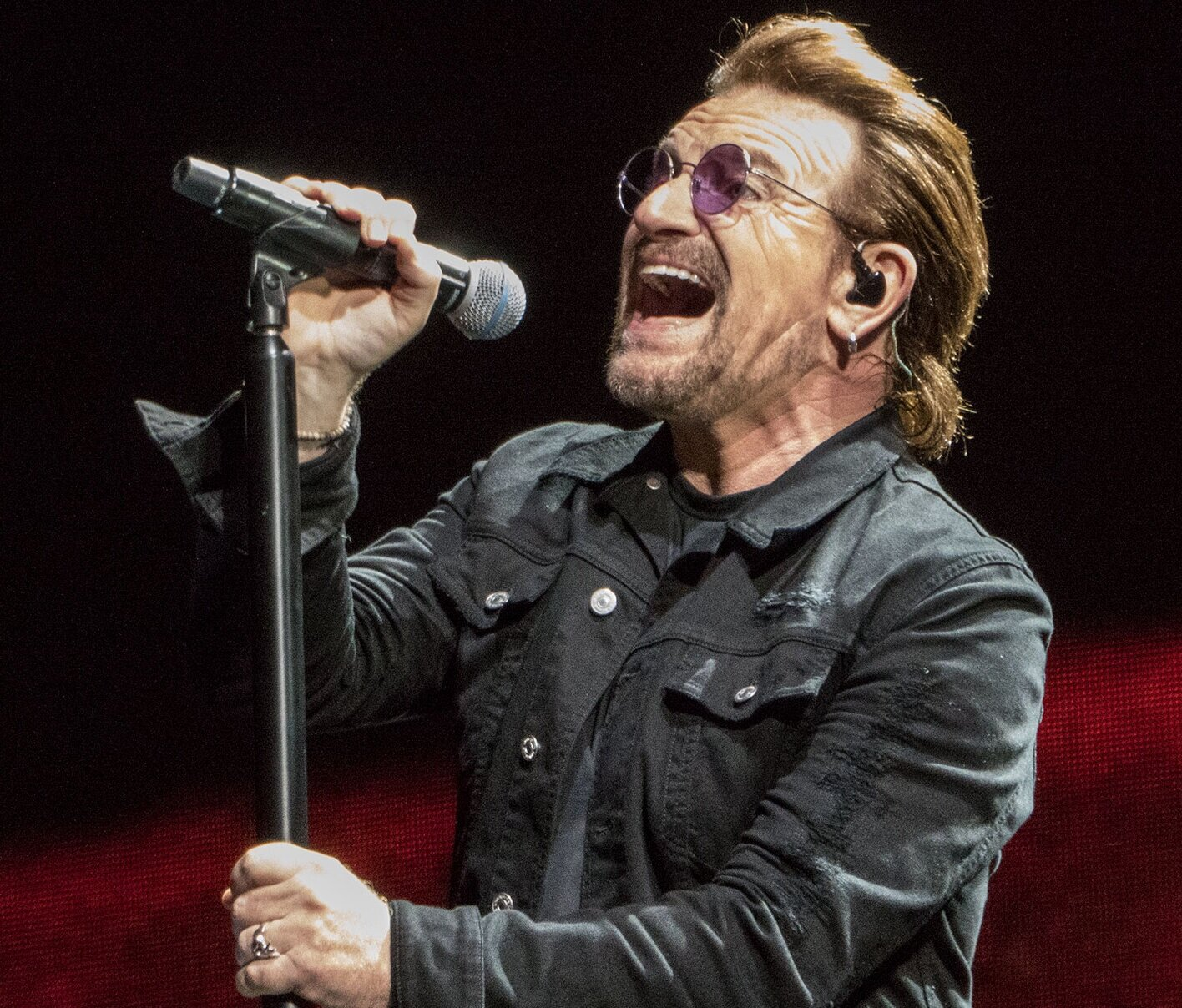 Dublin native Bono is as well-known for his political statements as he is for his four-decade music career.