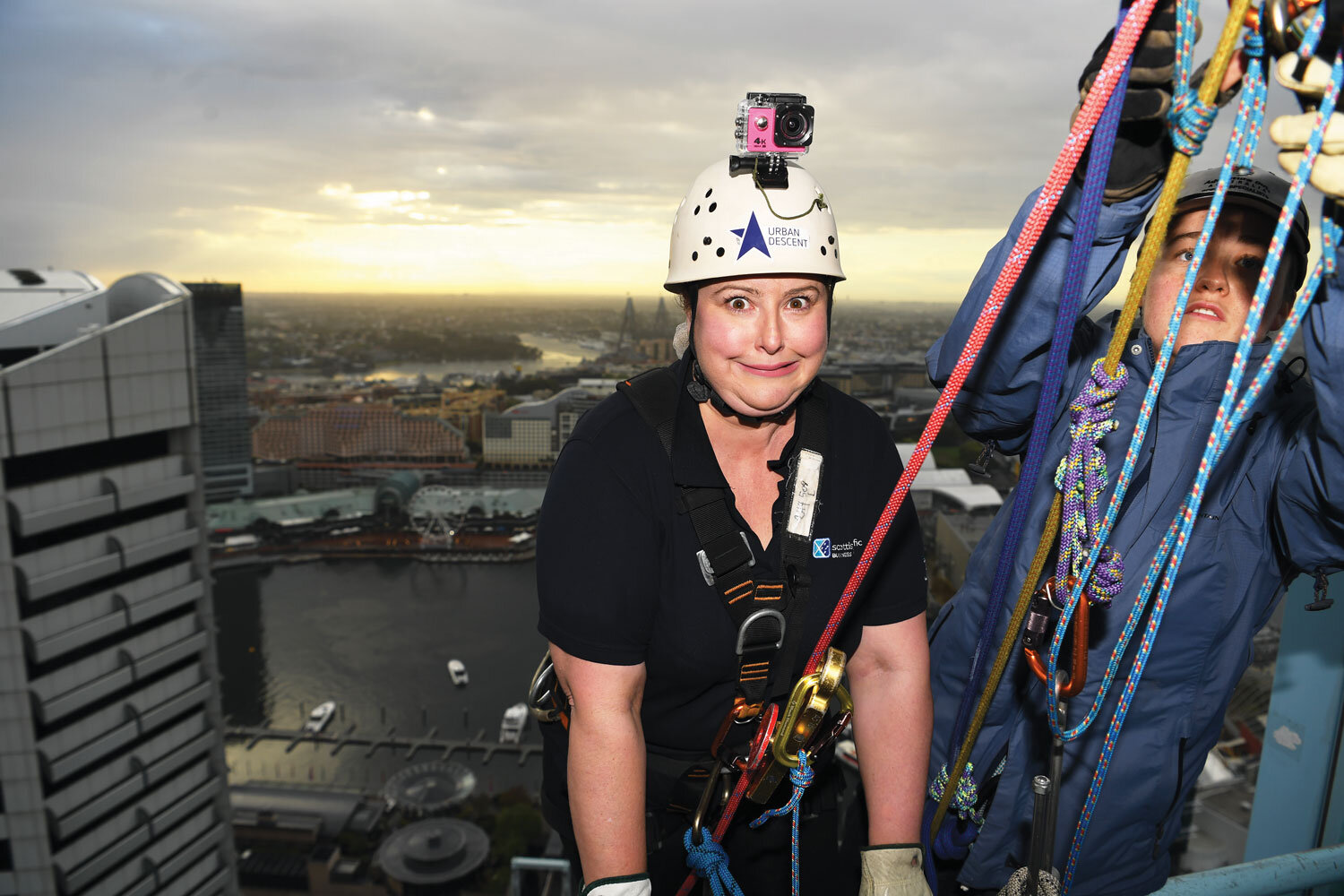 The Abseil for Youth event has raised more than $2.6 million in its nine year history.