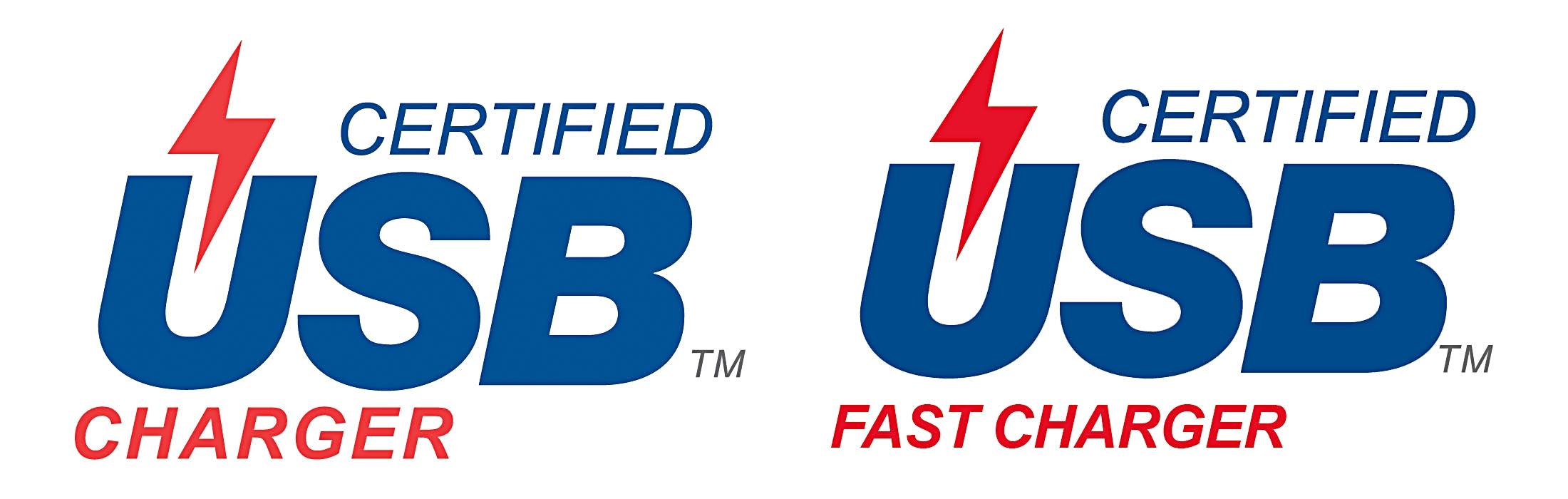 USB Charging logos