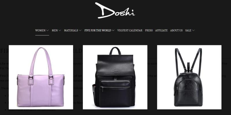 Doshi - Fine Clothes, Shoes and Accessories