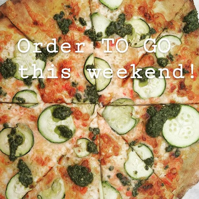 Pre order take away for tonight and tomorrow night! Message me on here or email kitchen@bullocklakefarm.com -Spicy ssi boar+kimchi pizza $27 -not spicy zucchini and sweet pepper pizza $26