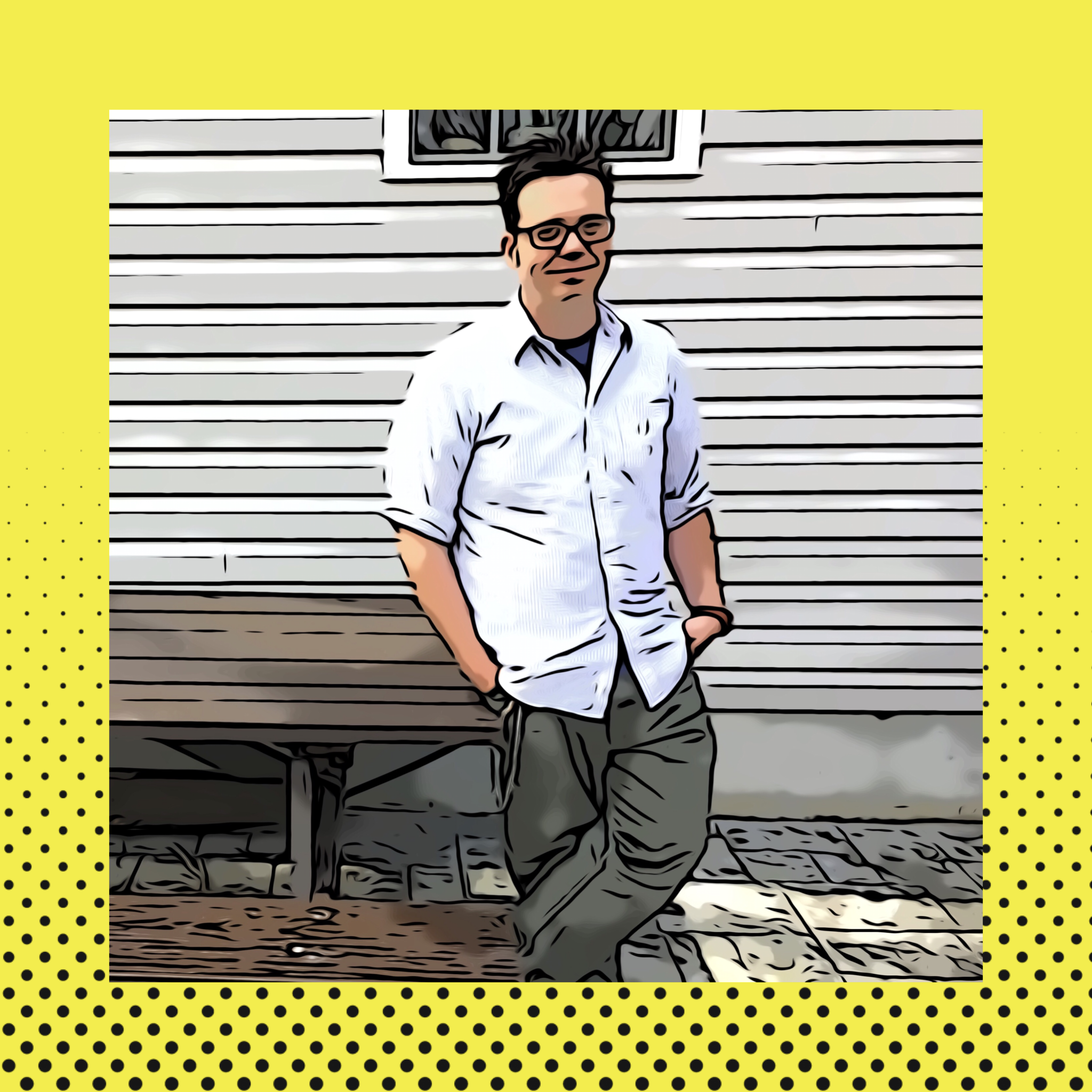 """Jon """"Sketch"""" Achelpohl   Jon is a Midwest transplant and an illustrator and comic book artist. He's an activist and volunteers with The Virginia Democrats."""