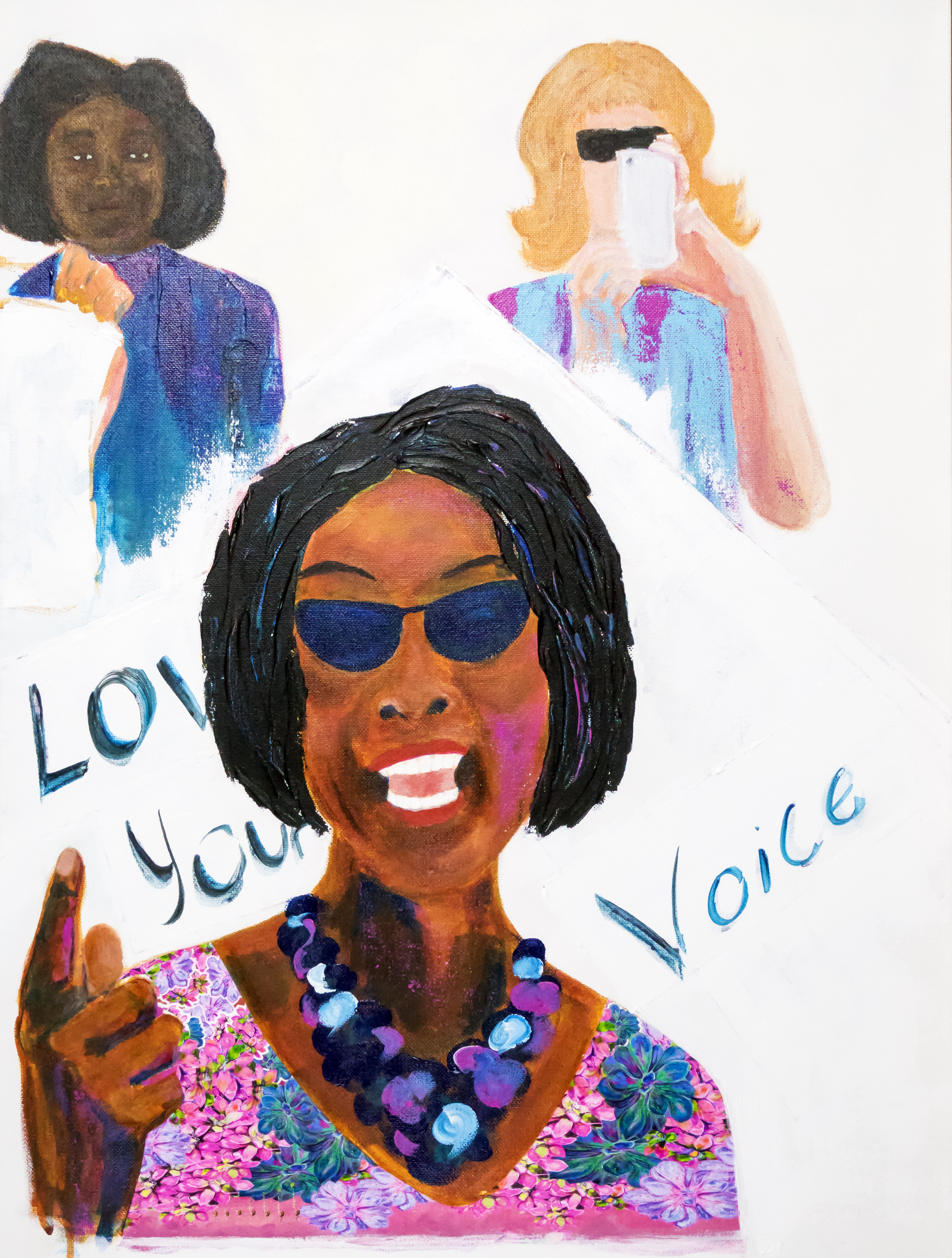 Love Your Voice – Kelly U Johnson – $550