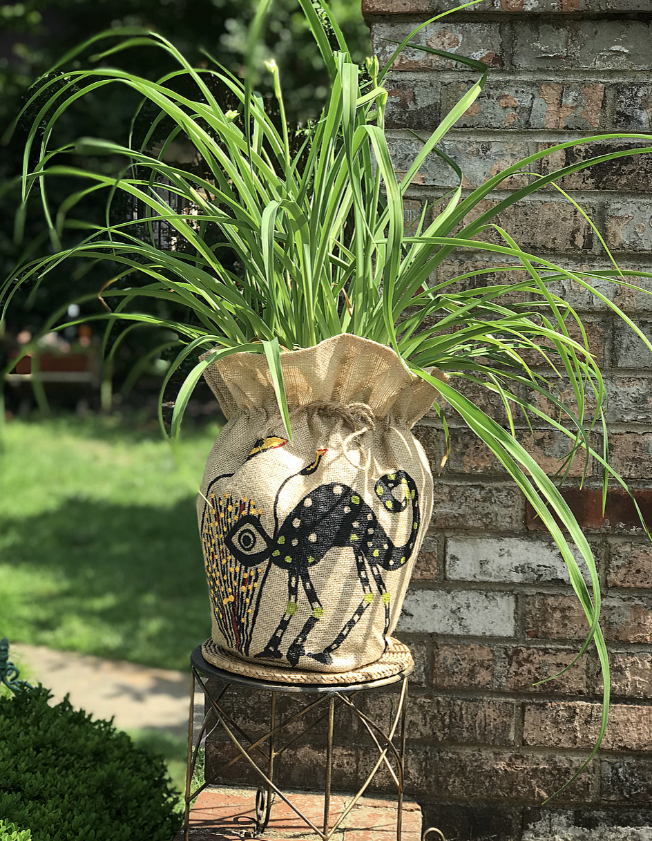 Art is Nature planters – Priyah Bhagat & Kamala Bhagat from House of Bhagat – $80