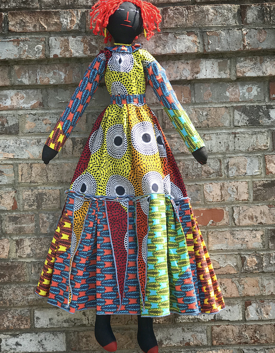 Oh My Dolling/Folk Dolls – Priyah Bhagat & Kamala Bhagat from House of Bhagat  – $485