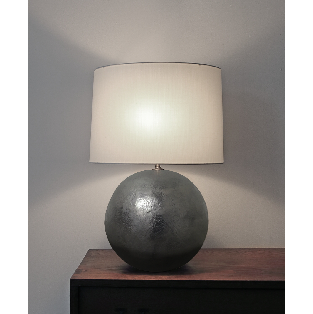 Dark Platinum Lamp Base