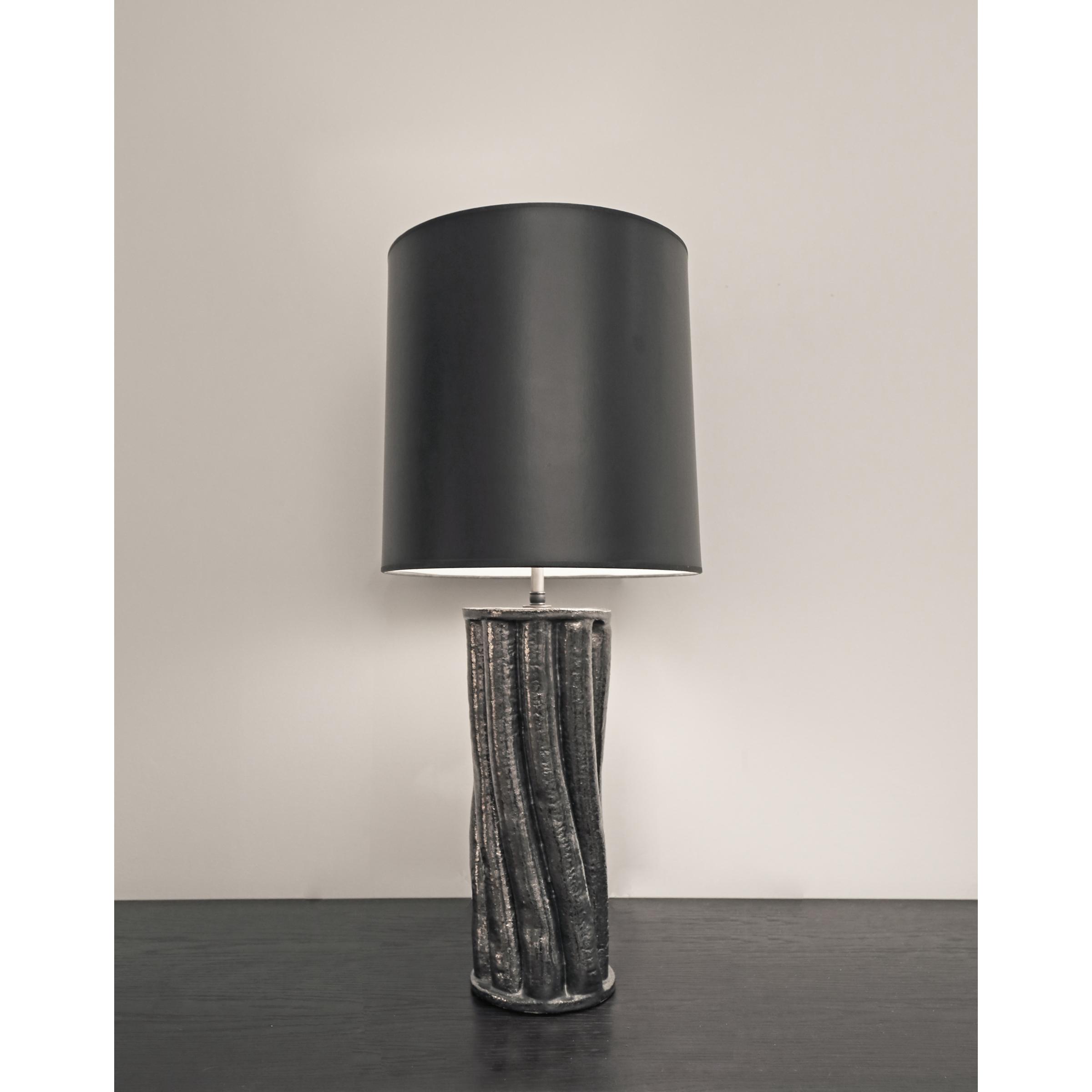 Torqued Column Lamp Base