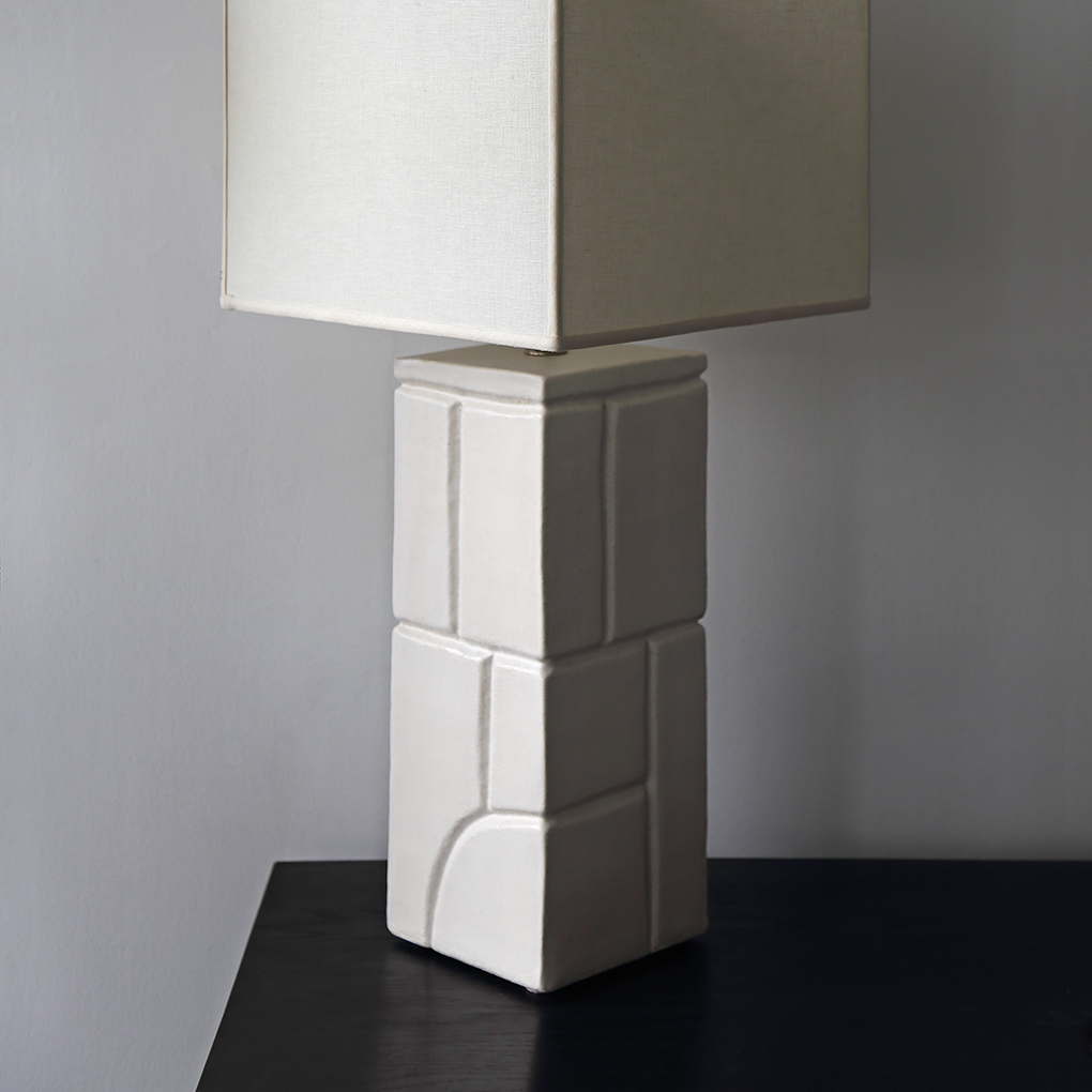 Inka Lamp Base