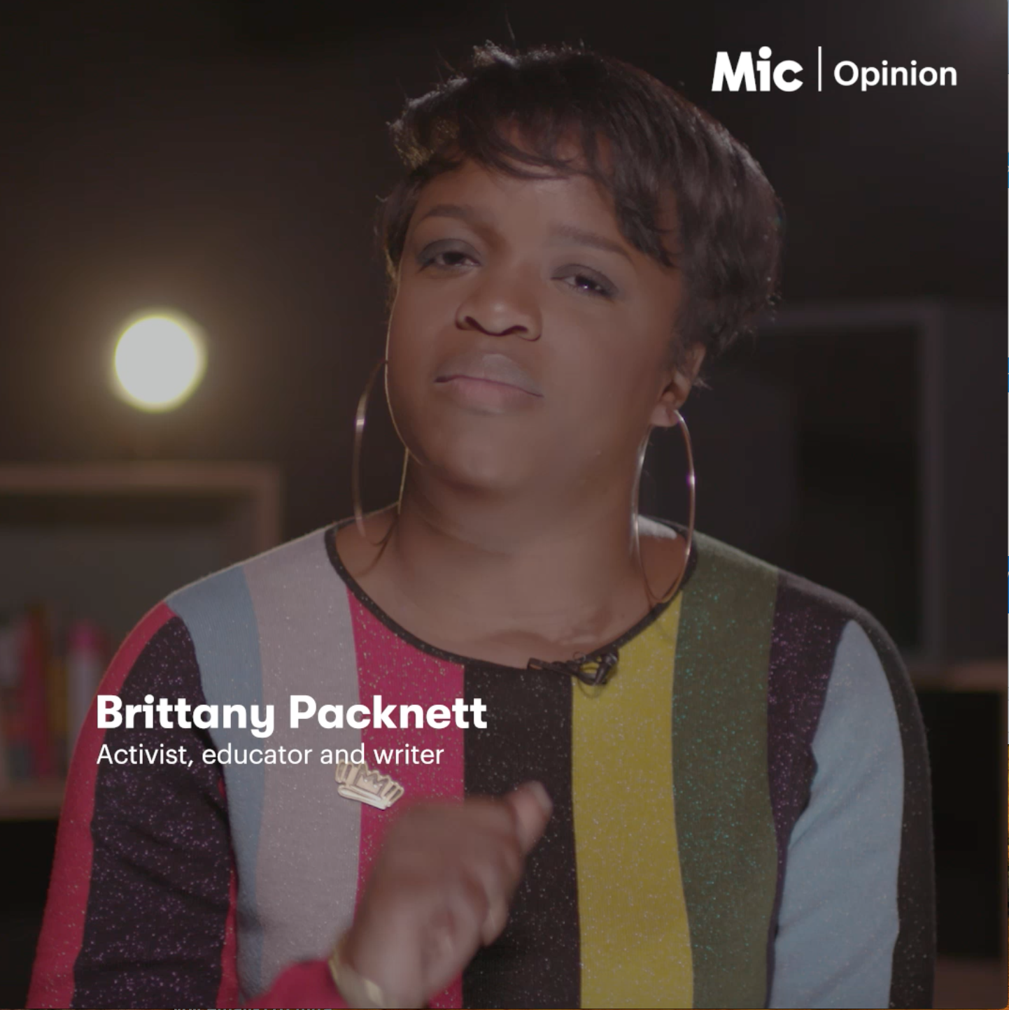 As a  video columnist for Mic News , Brittany shared her thoughts on current critical issues of the day with truth, humor and edge. Click above to watch Brittany's social commentary in these videos.