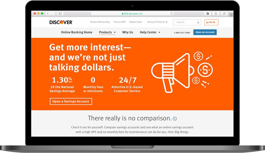 Discover Online Savings Campaign — Elizabeth Kelly
