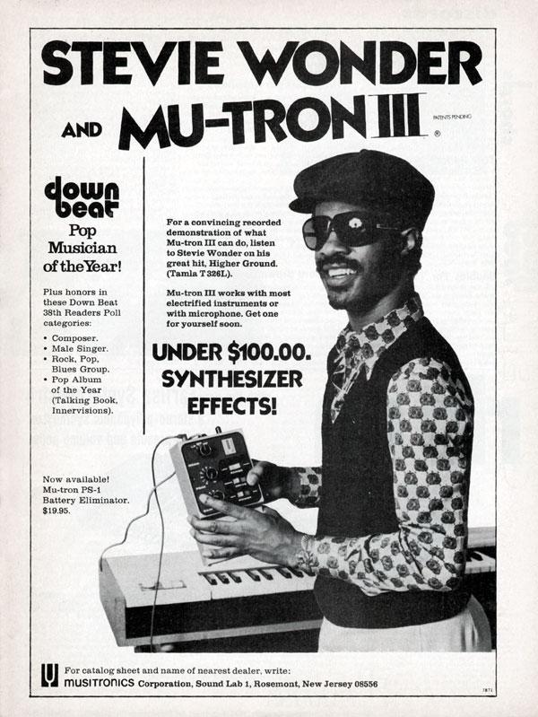 1974 Musitronics Advertisement