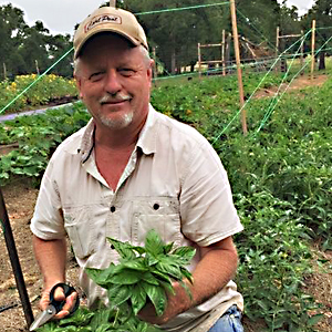 "Wolff Family Farms   C. David Wolff   David Wolf is a horticulturist that has worked in the landscape industry in the greater Houston area for the past 30 years. He has taken his experience back to his family farm to use sustainable methods of food production including: aquaponics and permaculture; specifically Hugelkultur gardening.  Wolff Family Farms has aquaponically grown lettuce and greens including: celery, Italian parsley and bok choy. Also available are cut flower bouquet's, color bowls and seasonal vegetables.   Come by the Farmers Market and visit the ""Wolff Pack""... Julia, David, Camron and Claire Wolff!!!"