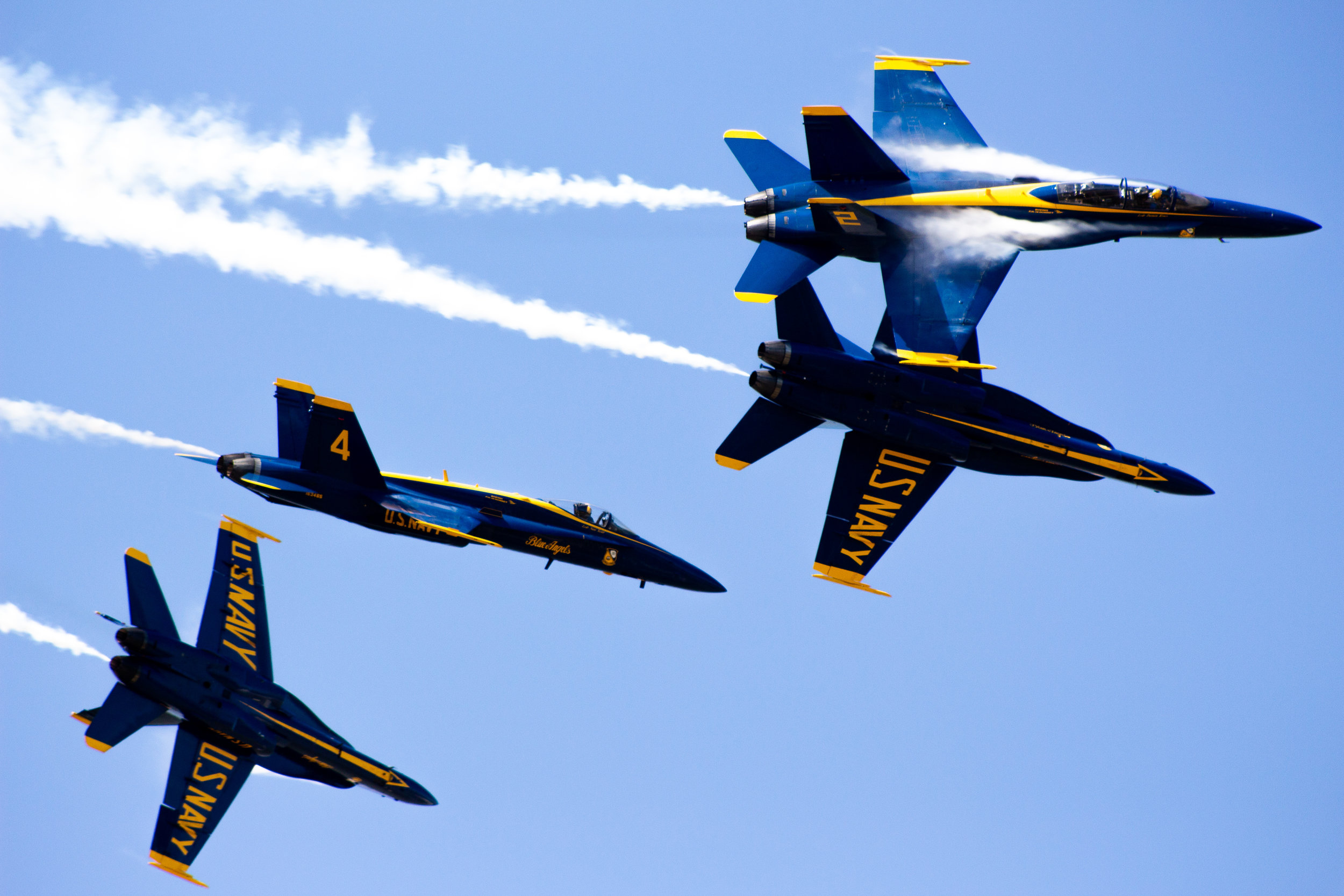 more from blue angels air show