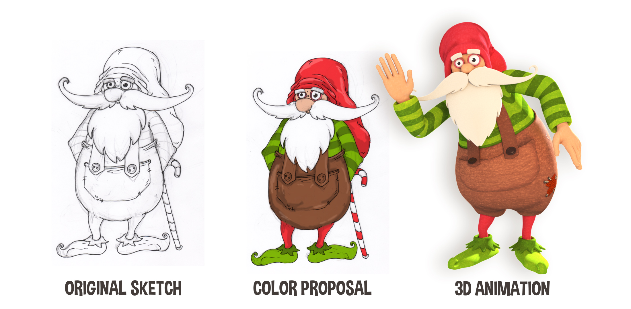Christmas Elf Concept for the client.