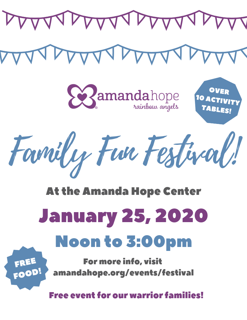 If your family has been impacted by childhood cancer, a blood disorder, or another life-threatening illness, then this event is for you!   Join us for an afternoon of fun activities, free food, and good people!