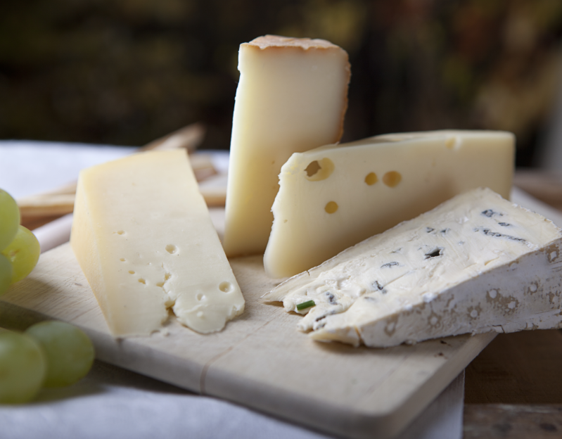 THE CHEESE, PLEASE - Michele Sommer is a local retired cheese farmer who got into making cheese to keep the mind and body young and youthful. She makes fresh, homemade artisan cheese - Cheddar, colby, havarti, spanish manchego, etc., goat cheese,cheese by-products, aran and fair isle knits.