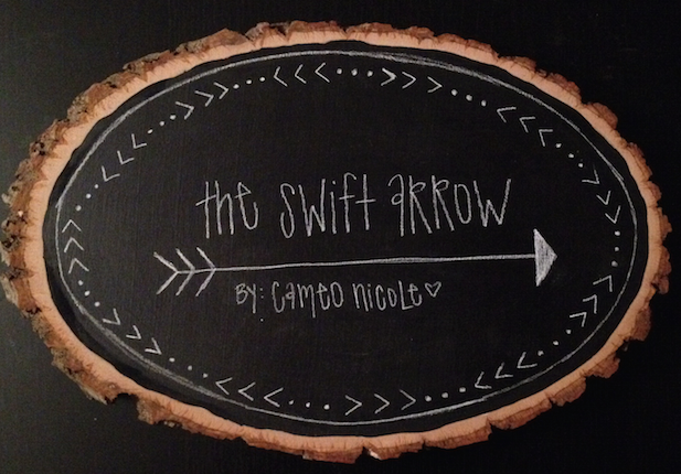 THE SWIFT ARROW - The Swift Arrow is a Cincinnati based, female owned and operated buisness that strives to create pieces that proudly showcase a local spirit of Cincinnati.